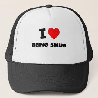 I love Being Smug Trucker Hat