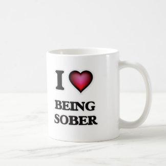 I love Being Sober Coffee Mug