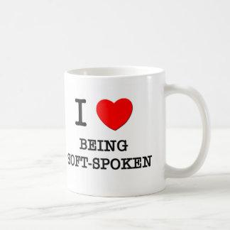 I Love Being Soft-Spoken Classic White Coffee Mug