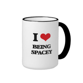 I love Being Spacey Coffee Mug