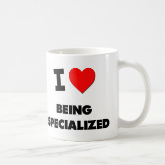I love Being Specialized Classic White Coffee Mug