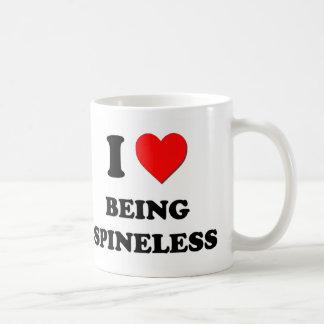 I love Being Spineless Mugs