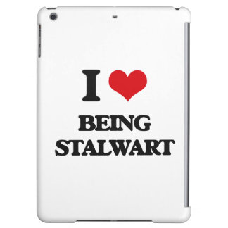 I love Being Stalwart iPad Air Covers