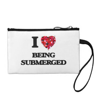 I love Being Submerged Coin Wallets