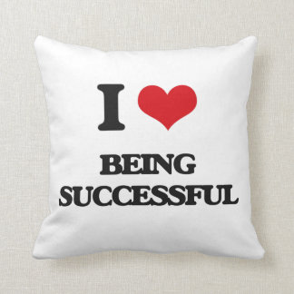 I love Being Successful Pillow