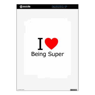 I Love Being Super iPad 2 Skin