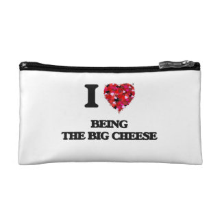 I love Being The Big Cheese Cosmetic Bag