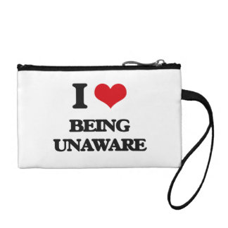I love Being Unaware Coin Purse