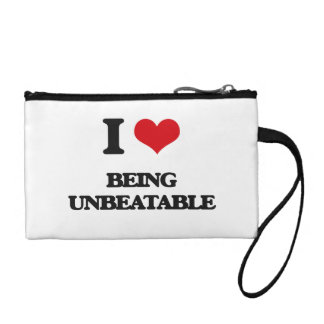 I love Being Unbeatable Coin Wallets