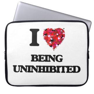 I love Being Uninhibited Laptop Sleeves