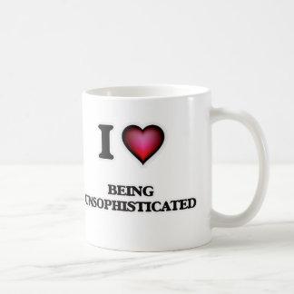 I love Being Unsophisticated Coffee Mug