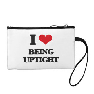 I love Being Uptight Coin Purses