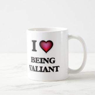I love Being Valiant Coffee Mug