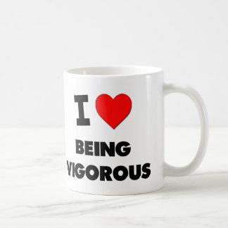 I love Being Vigorous Mugs