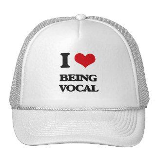 I love Being Vocal Trucker Hat