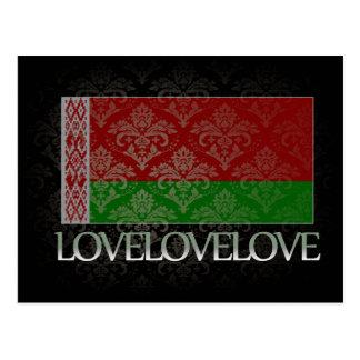 I love Belarus Cool Postcard