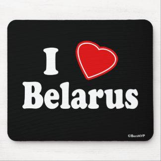 I Love Belarus Mouse Pad