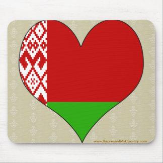 I Love Belarus Mousepad