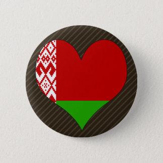 I Love Belarus Pinback Button