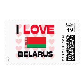 I Love Belarus Postage