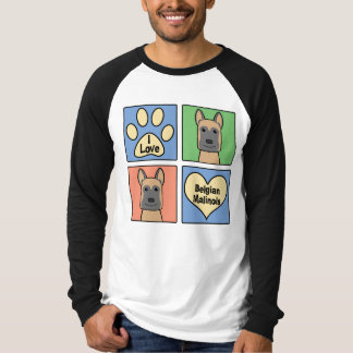 I love Belgian Malinois T-Shirt