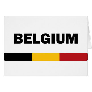 I Love Belgium Card