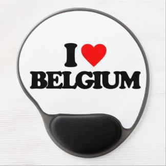 I LOVE BELGIUM GEL MOUSE MAT