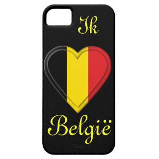 I love Belgium - Ik hou van België - in Dutch iPhone SE/5/5s Case