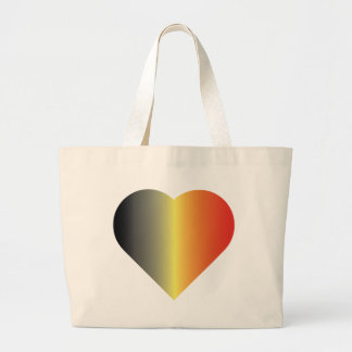 I Love Belgium Large Tote Bag