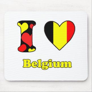 I love Belgium Mouse Pad