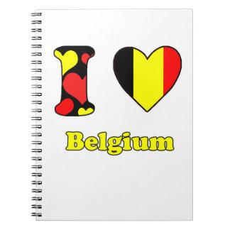 I love Belgium Notebook