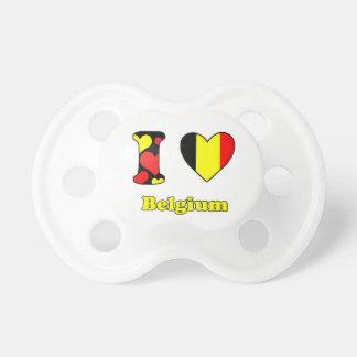 I love Belgium Pacifier