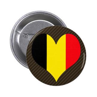 I Love Belgium Pinback Button