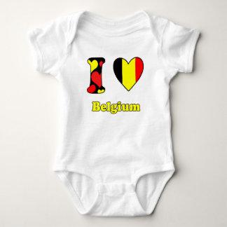 I love Belgium Tee Shirt