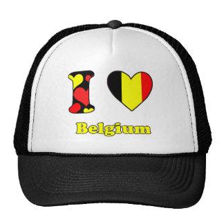 I love Belgiun Trucker Hat
