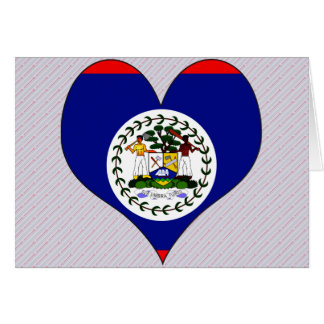 I Love Belize Greeting Cards