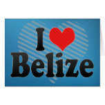 I Love Belize Cards