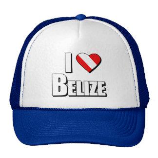 I Love Belize Diving Trucker Hat
