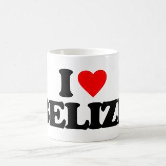 I LOVE BELIZE 11 OZ MAGIC HEAT Color-Changing COFFEE MUG