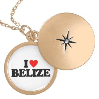 I LOVE BELIZE NECKLACE