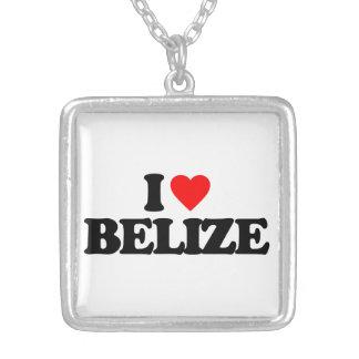 I LOVE BELIZE PENDANT