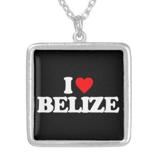 I LOVE BELIZE CUSTOM NECKLACE
