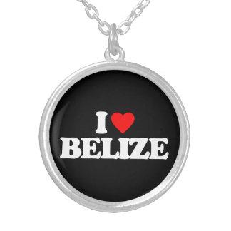 I LOVE BELIZE PENDANTS
