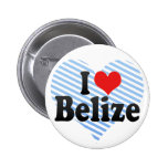 I Love Belize Pins