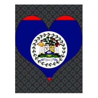 I Love Belize Postcard