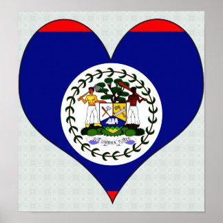 I Love Belize Posters