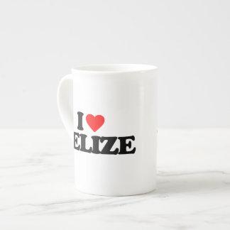 I LOVE BELIZE TEA CUP