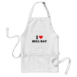 I Love Bell Bay Adult Apron