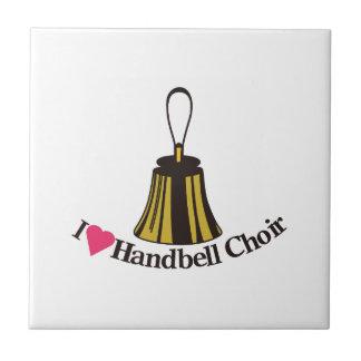 I Love bell Choir Ceramic Tile