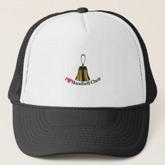 I Love bell Choir Trucker Hat